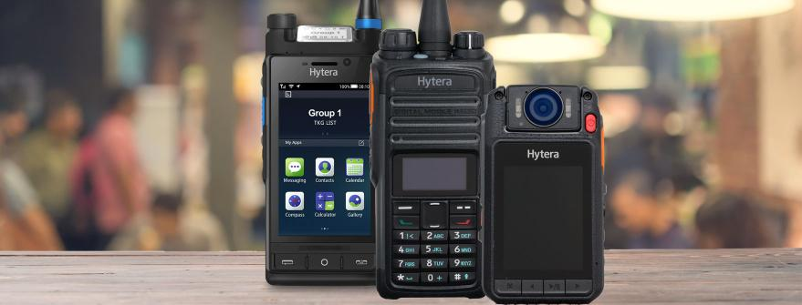 New Hytera products