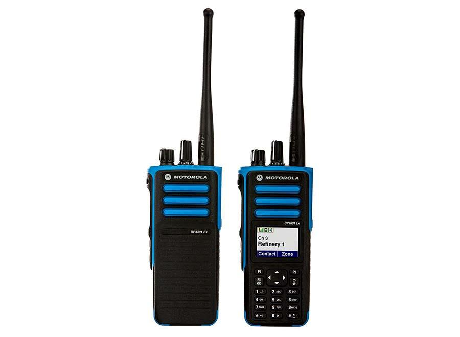 Motorola DP4000EX Series ATEX Digital Portable Two-Way Radio