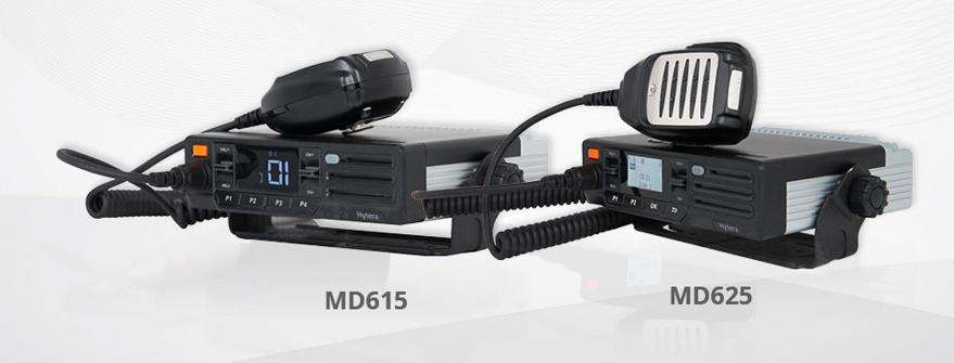 Two new DMR mobile radios from Hytera