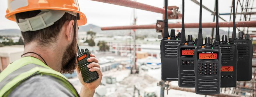 Motorola Solutions VX- and EVX- series radios