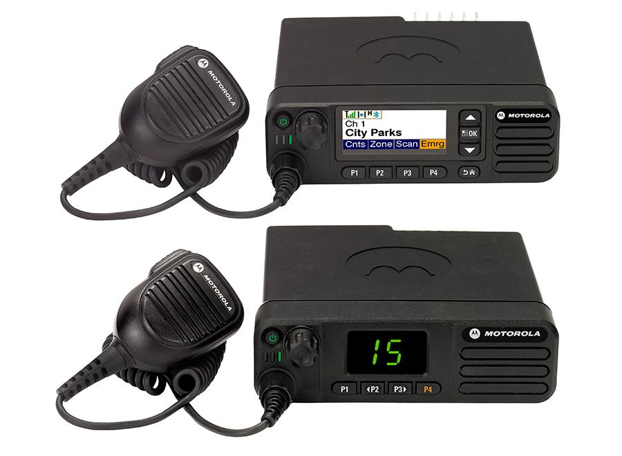 Motorola DM4000e Digital Mobile Two-Way Radio Series