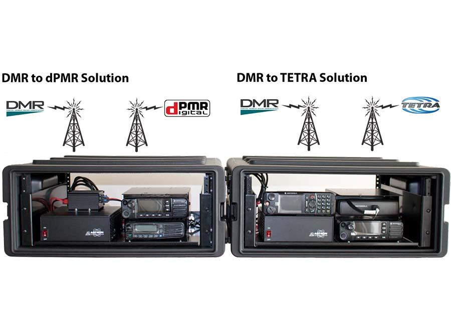 DMR to dPMR/TETRA back2back gateway solution