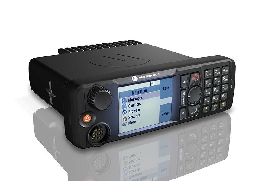 Motorola MTM5000 Series TETRA mobile radios
